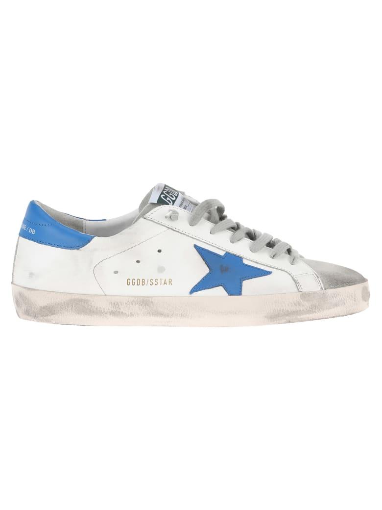 679525032bc Golden Goose Golden Goose Superstar Sneakers - WHITE + ICE BLUE ...
