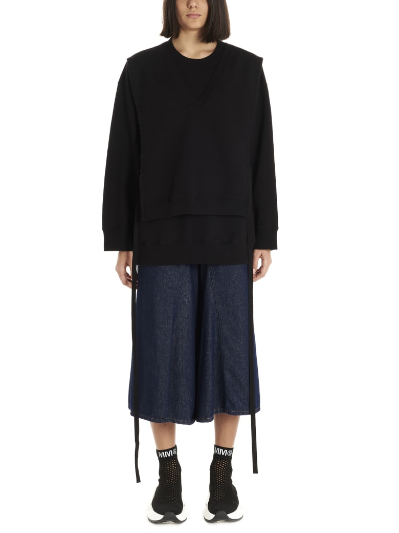 MM6 Maison Margiela Sweatshirt - Black