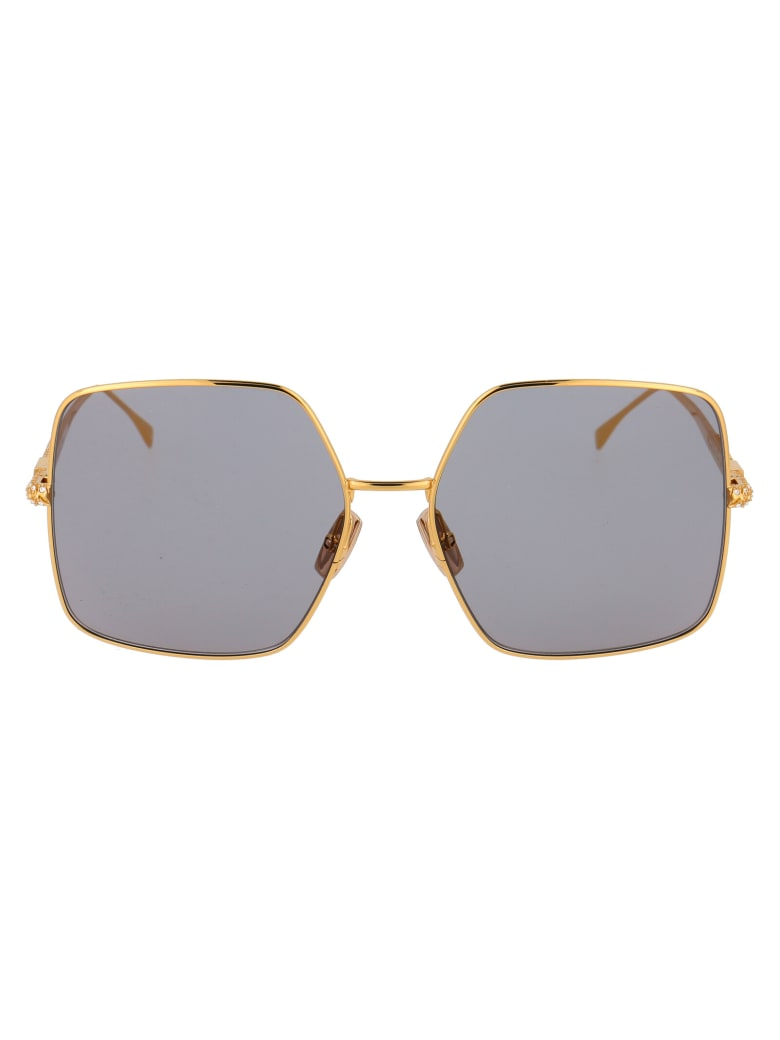 Fendi Ff 0439/s Sunglasses - 001JO YELLOW GOLD