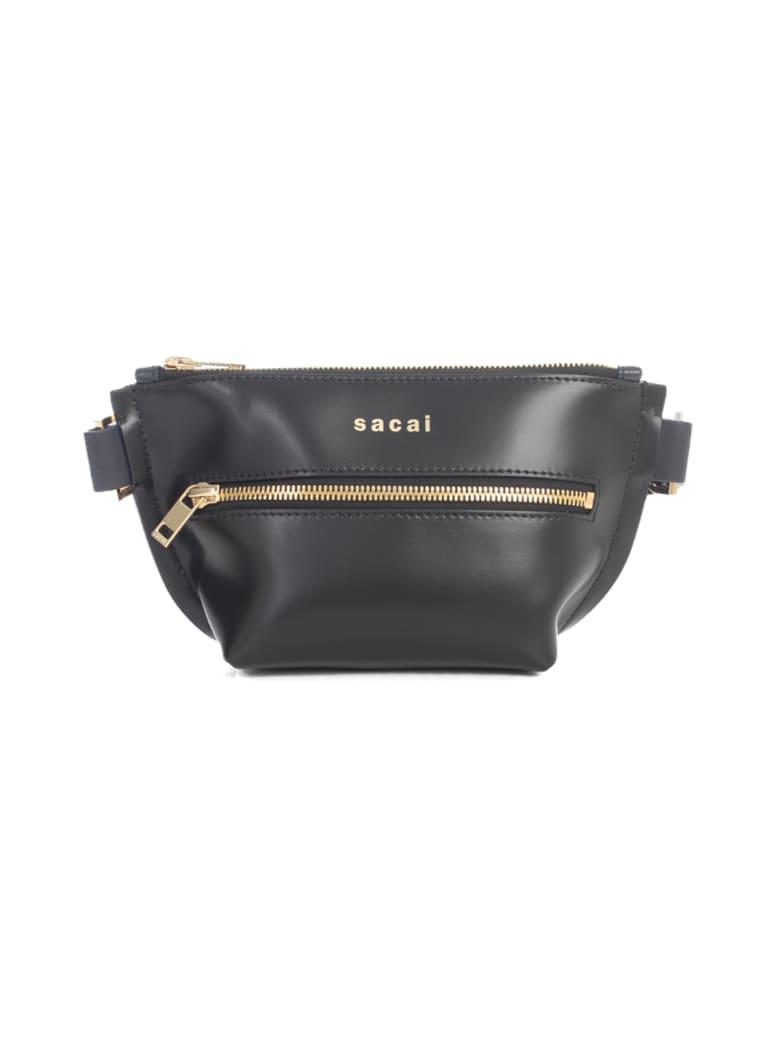 Sacai Trapezoid Wallet Pouch - Black