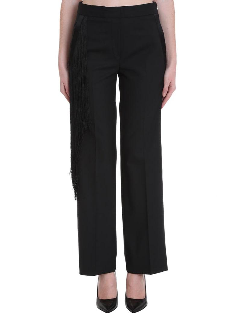 Neil Barrett Pants In Black Wool - black