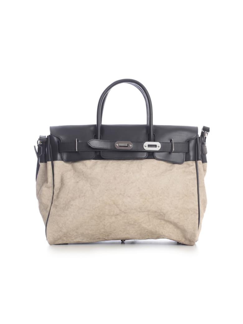 Numero 10 Canvas Luggage Bag - Light Extrachocolate