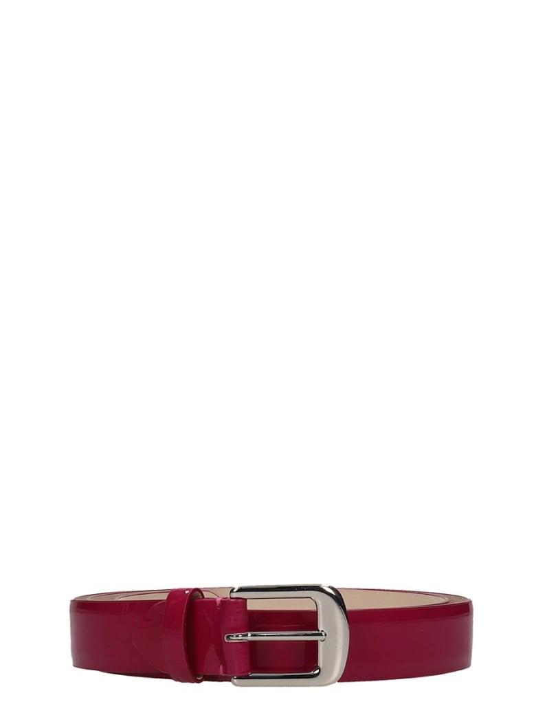 Maison Margiela Belts In Fuxia Patent Leather - fuxia