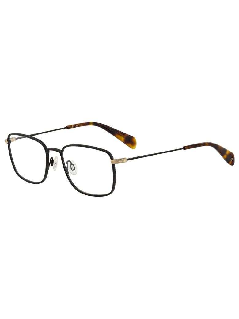 Rag & Bone RNB7022 Eyewear - Gold Black