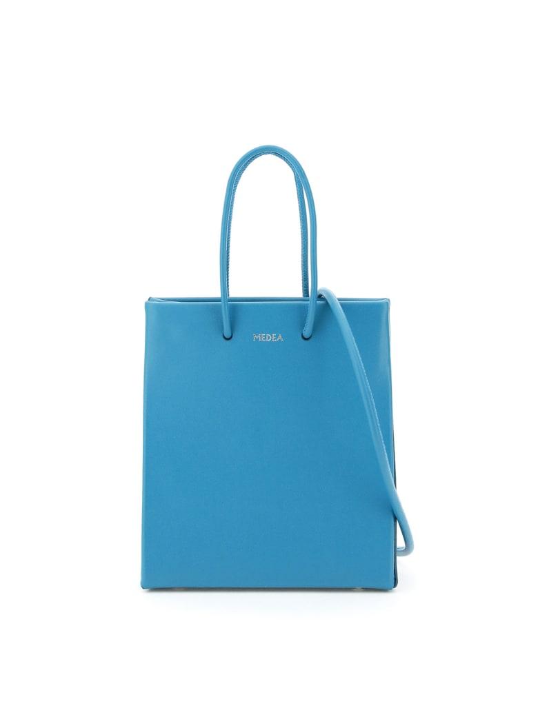 Medea Prima Short Crossbody Bag - TURQUOISE (Light blue)