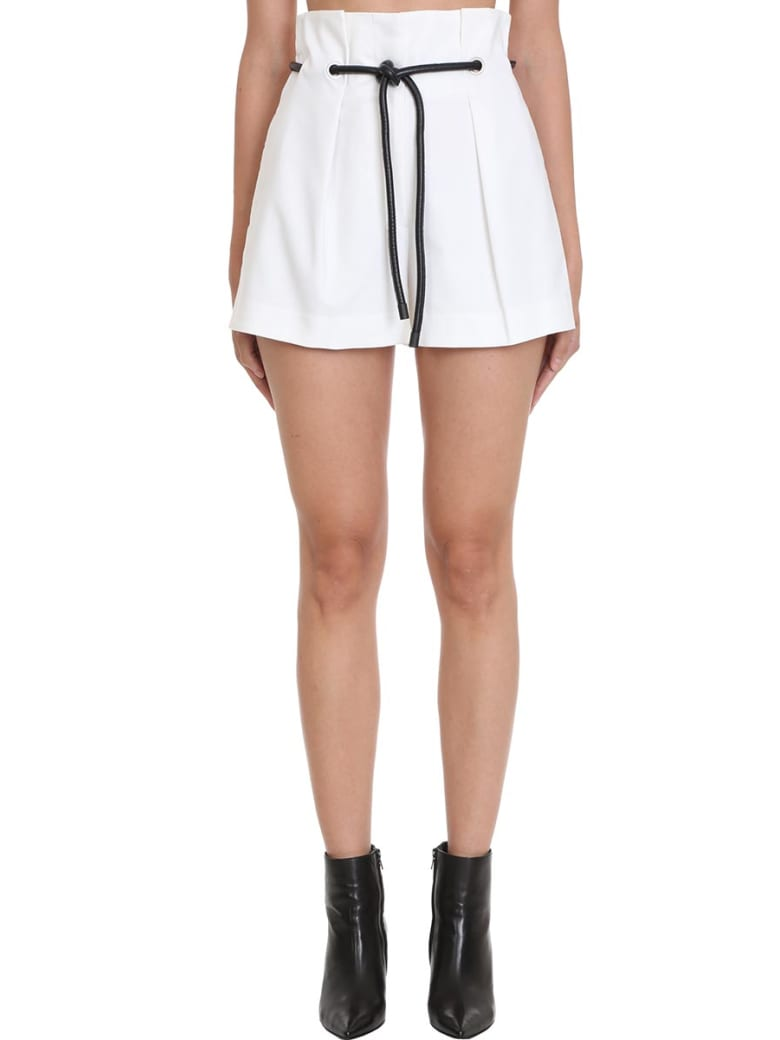 3.1 Phillip Lim Shorts In White Cotton - white