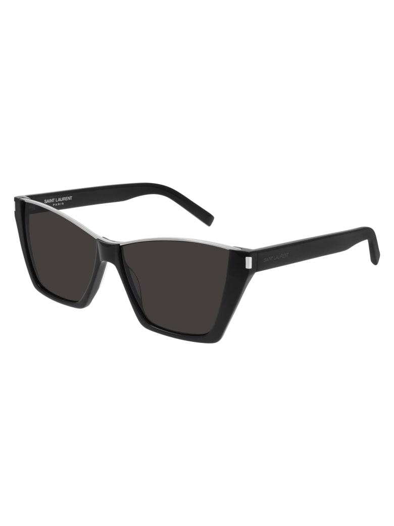 Saint Laurent SL 369 KATE Sunglasses - Black Black Black