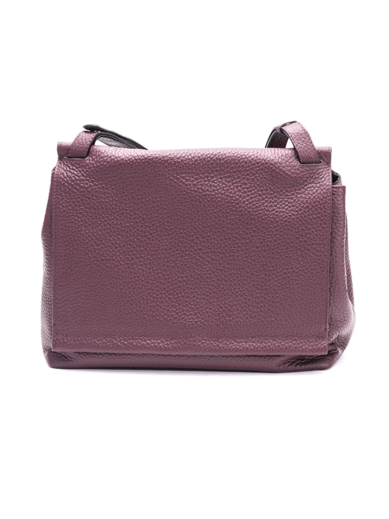 Gianni Chiarini Leather Bag - MERLOT