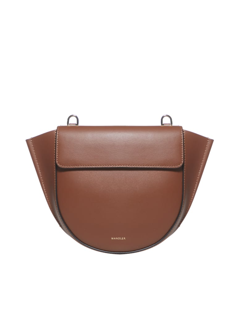 Wandler Hortensia Mini Shoulder Bag - Tan