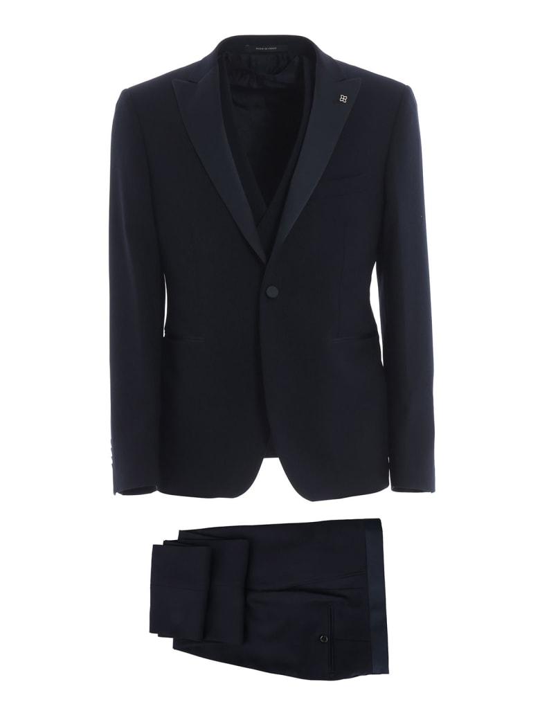 Tagliatore Three Piece Suit - Blue