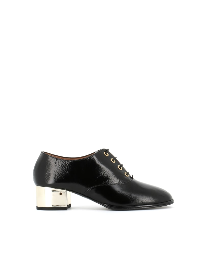Laurence Dacade Lace Up Shoes Tilly - Black