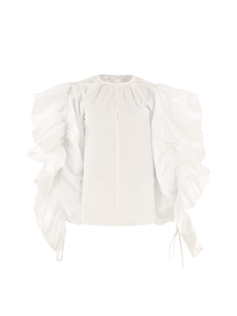 Givenchy Cotton Poplin Top - White