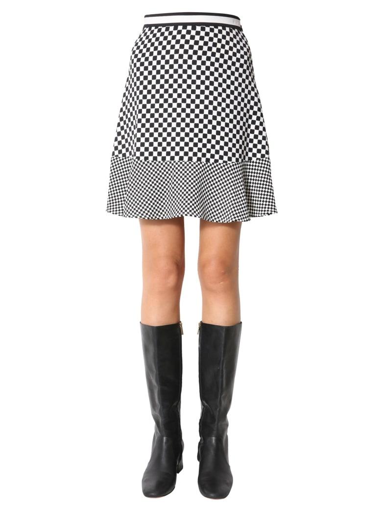 MICHAEL Michael Kors Frilled Skirt - BIANCO