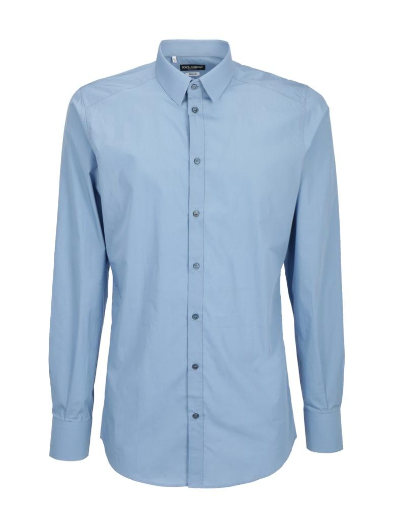 Dolce & Gabbana Gold Shirt - Azzurro cielo
