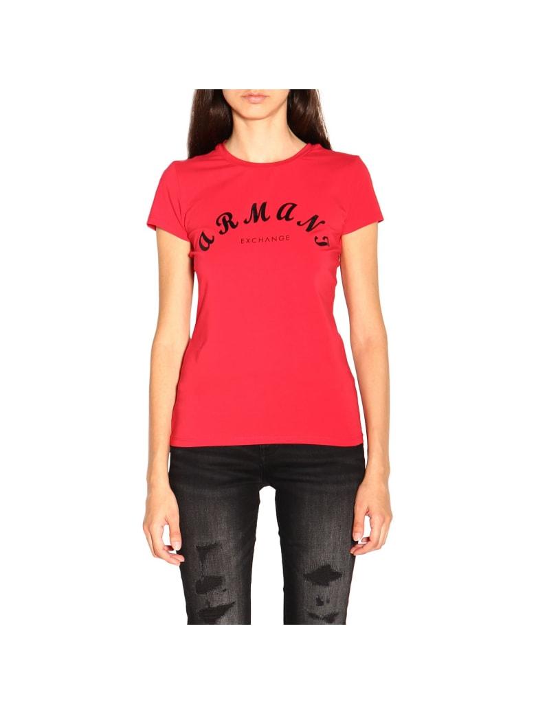 Armani Collezioni Armani Exchange T-shirt T-shirt Women Armani Exchange - red