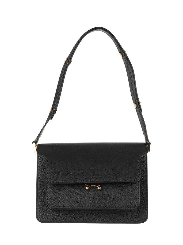 Marni Trank Shoulder Bag - BLACK