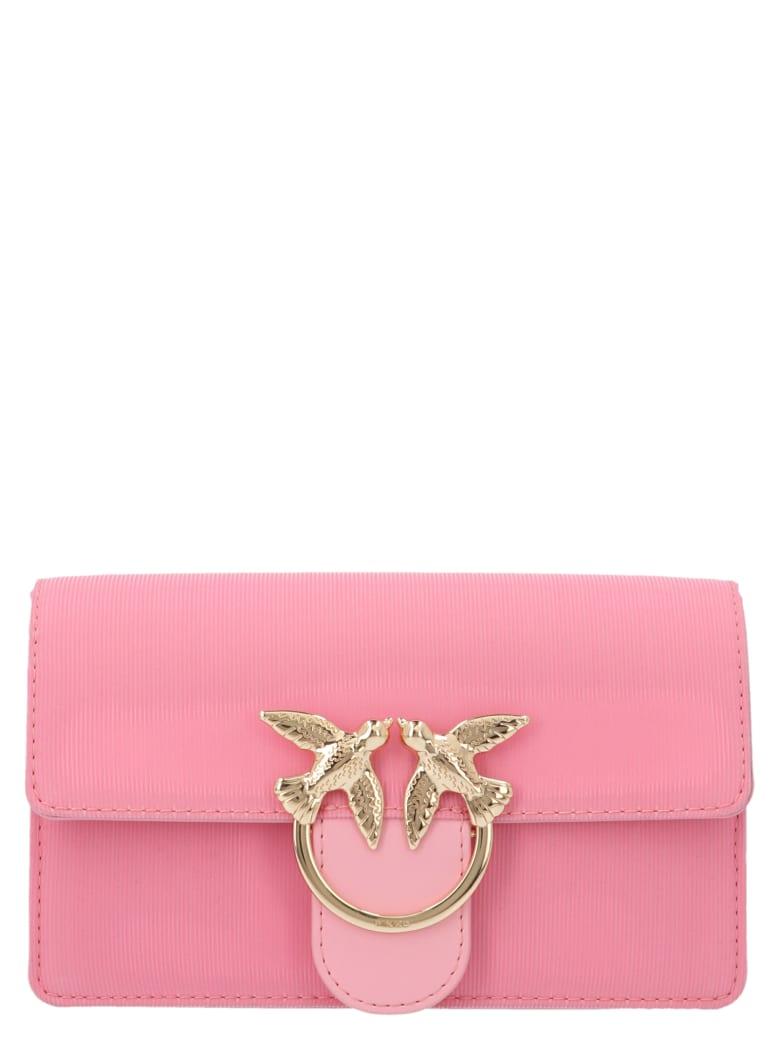 Pinko 'love Mini Switch On' Bag - Pink