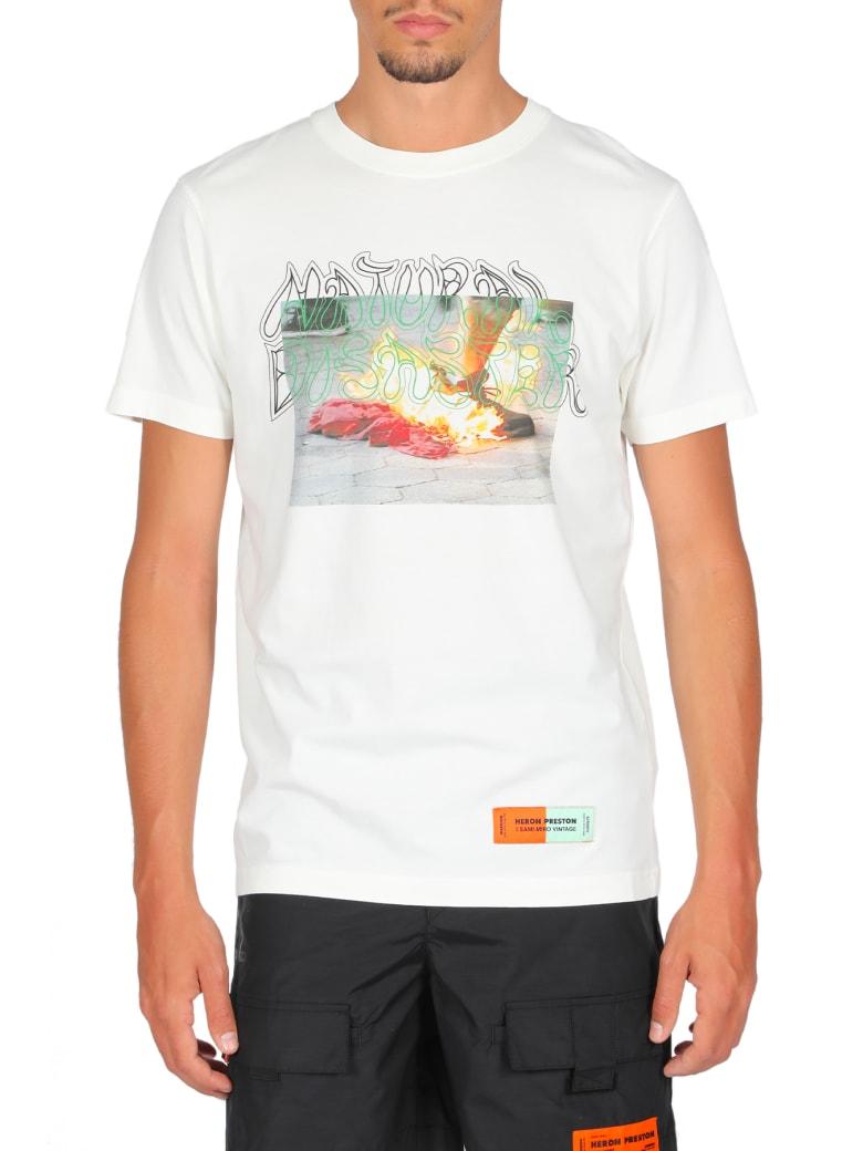 HERON PRESTON T-shirt Sami Miro - Bianco/multicolor