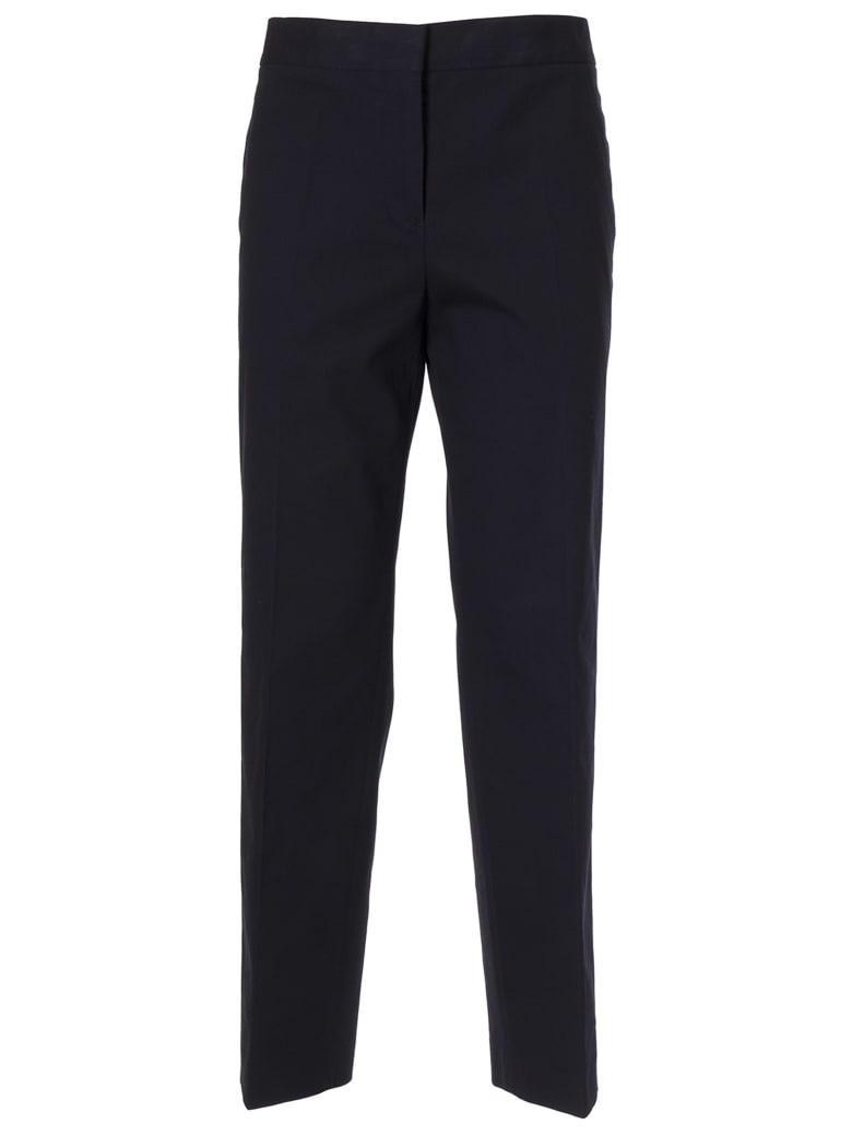 Jil Sander Classic Straight Trousers - DARK BLUE