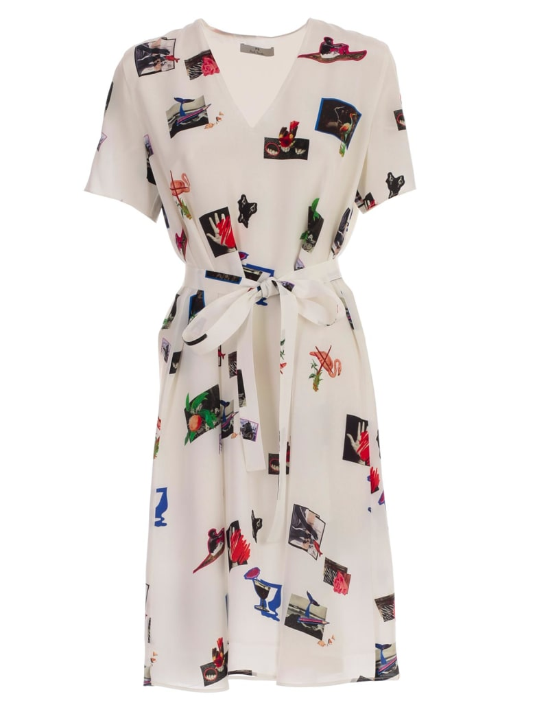 PS by Paul Smith Printed Dress - Offw
