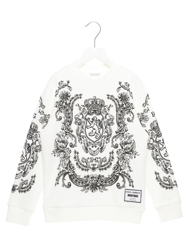 Dolce & Gabbana Sweatshirt - Black&White