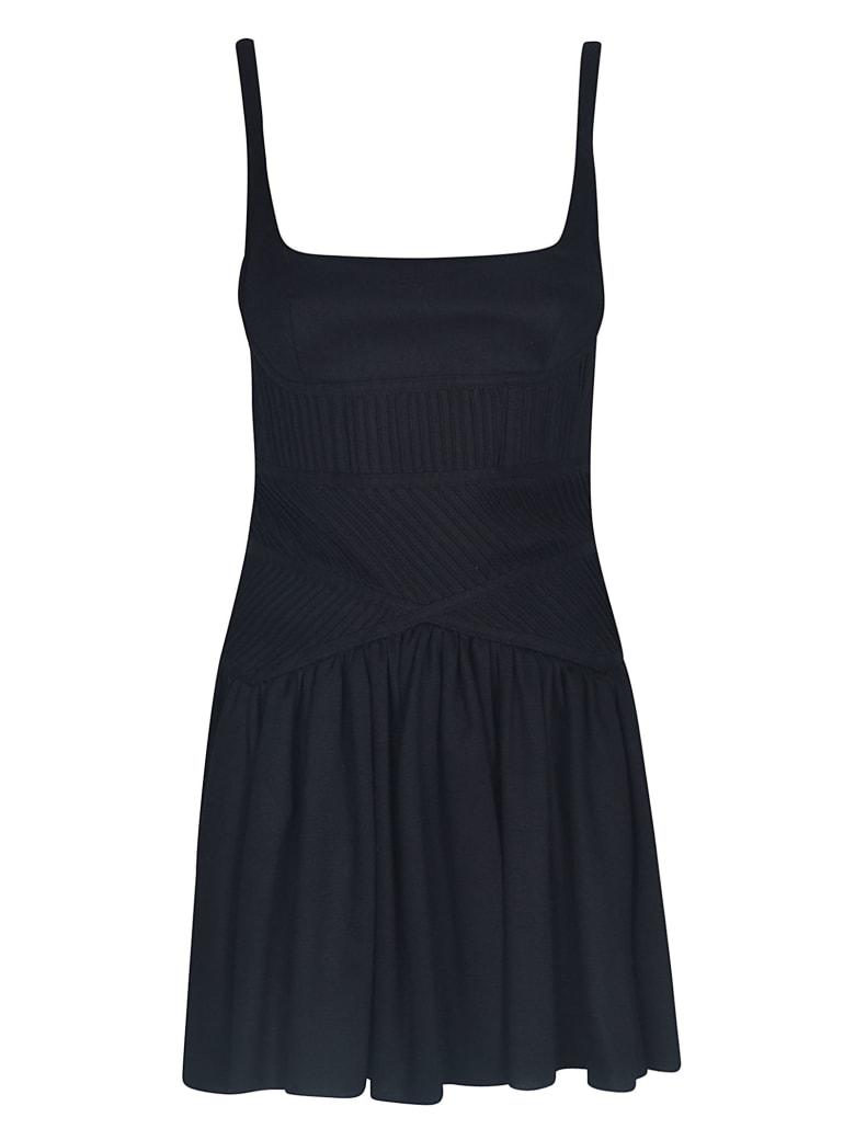 Giovanni Bedin Short Back Zipped Dress - Black