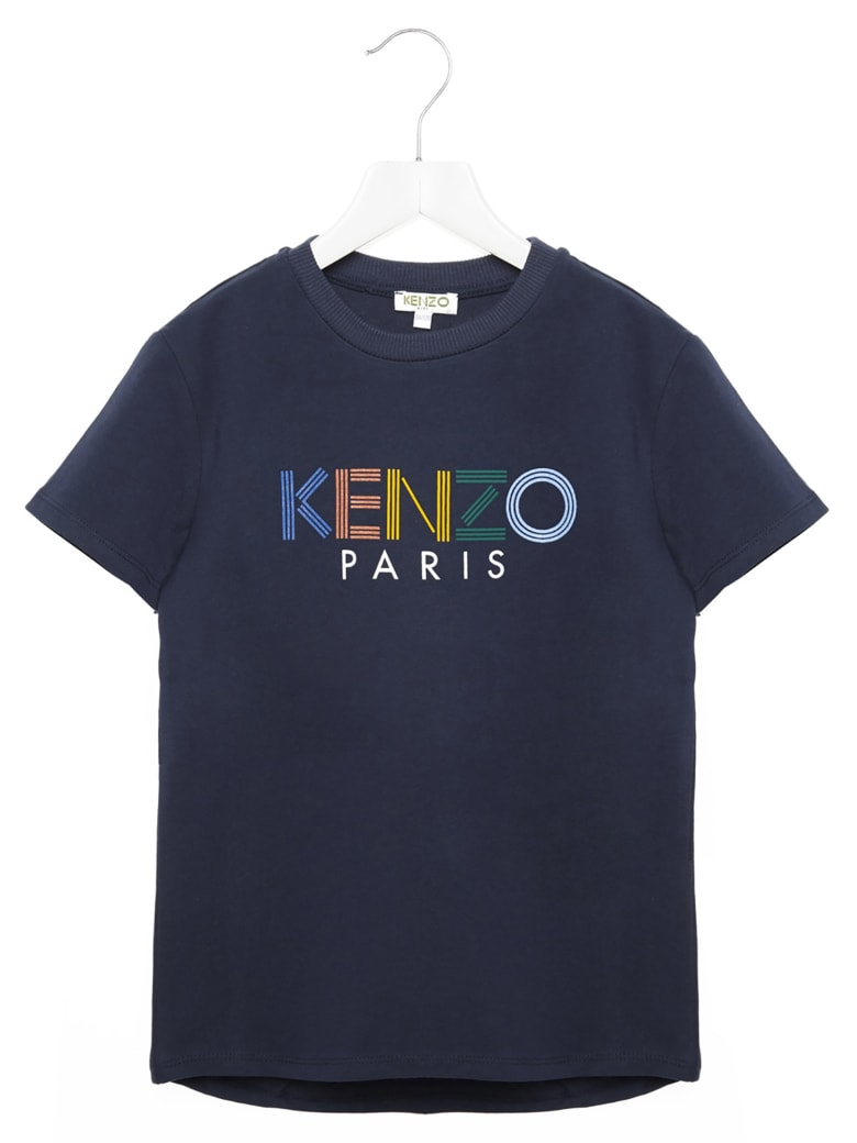 Kenzo Kids 'sport Line' T-shirt - Blue