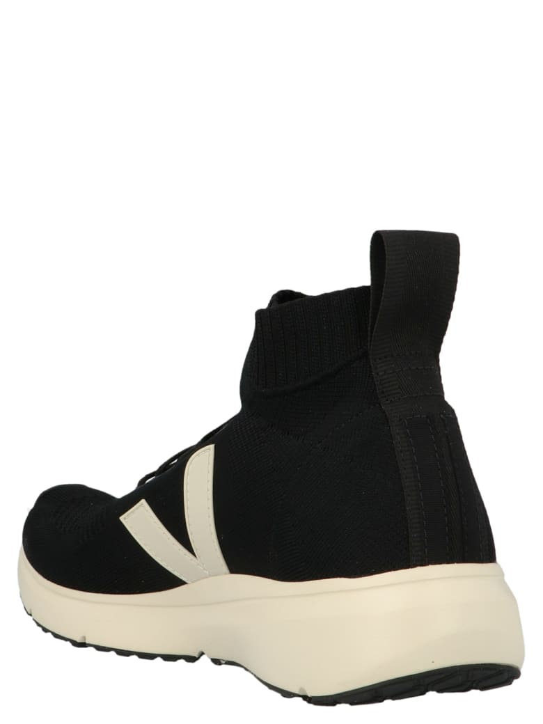 Rick Owens 'v-knit' Shoes - Black&White