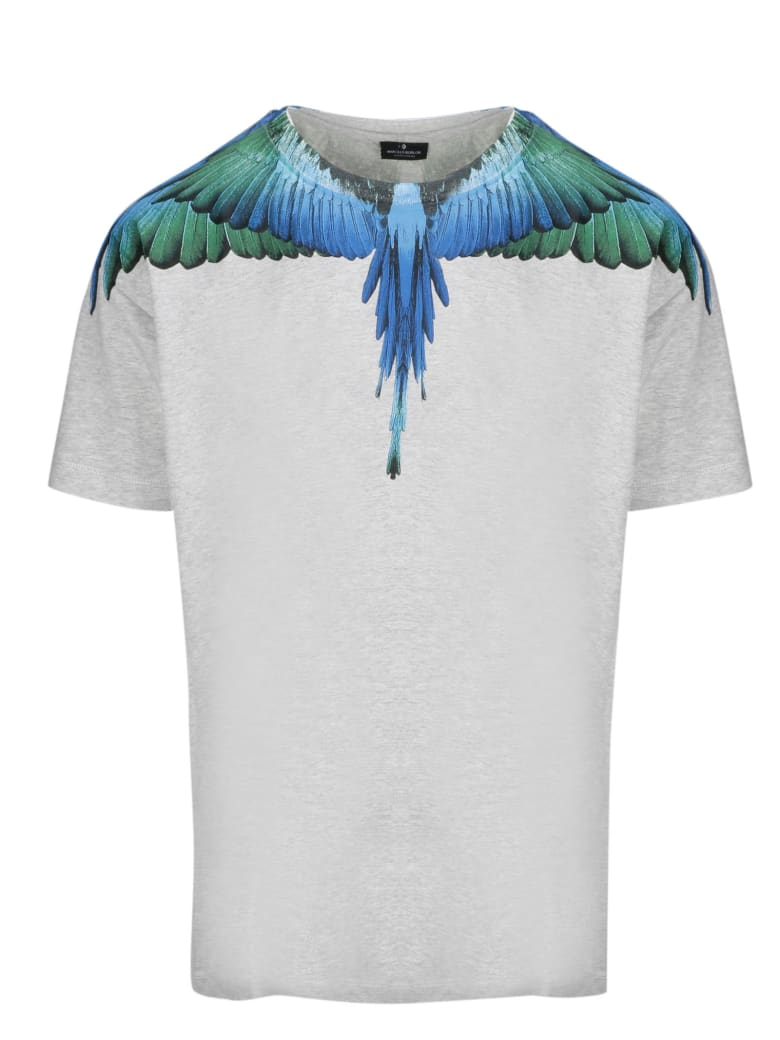 Marcelo Burlon Short Sleeve T-Shirt - Grey