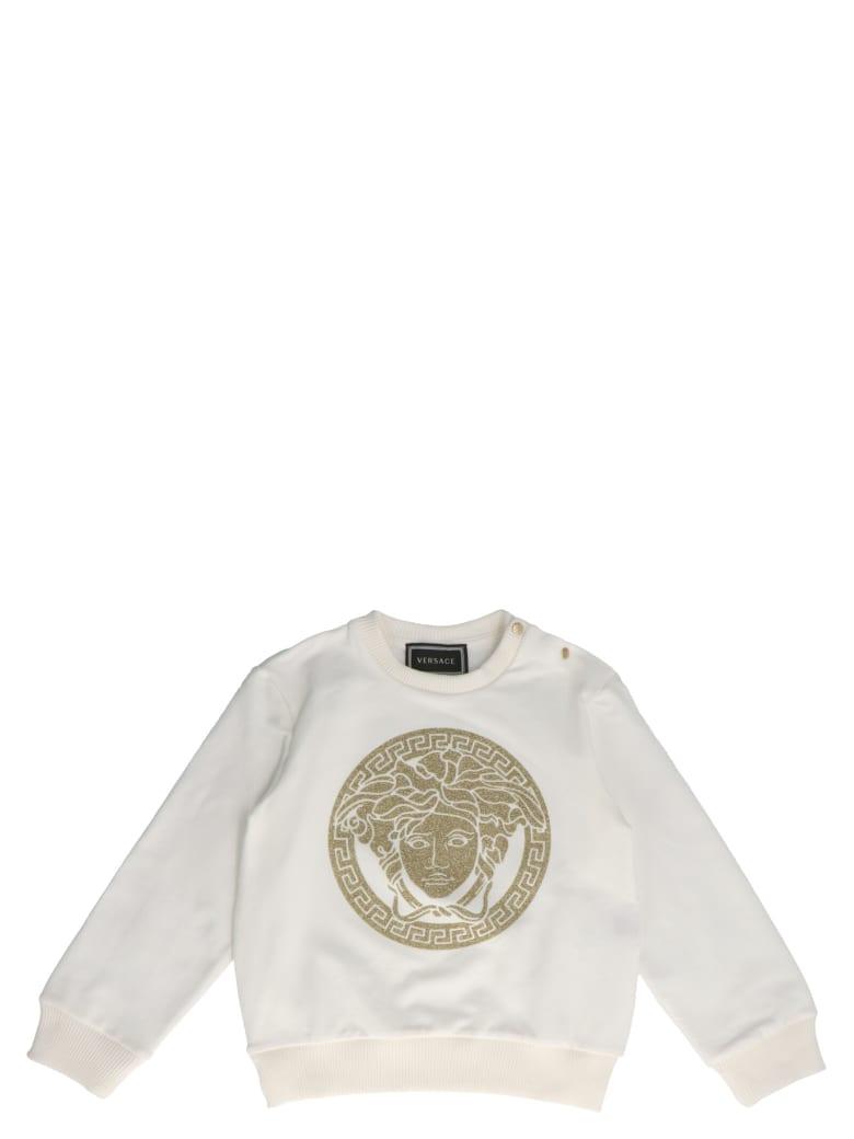 Young Versace 'medusa' T-shirt - White