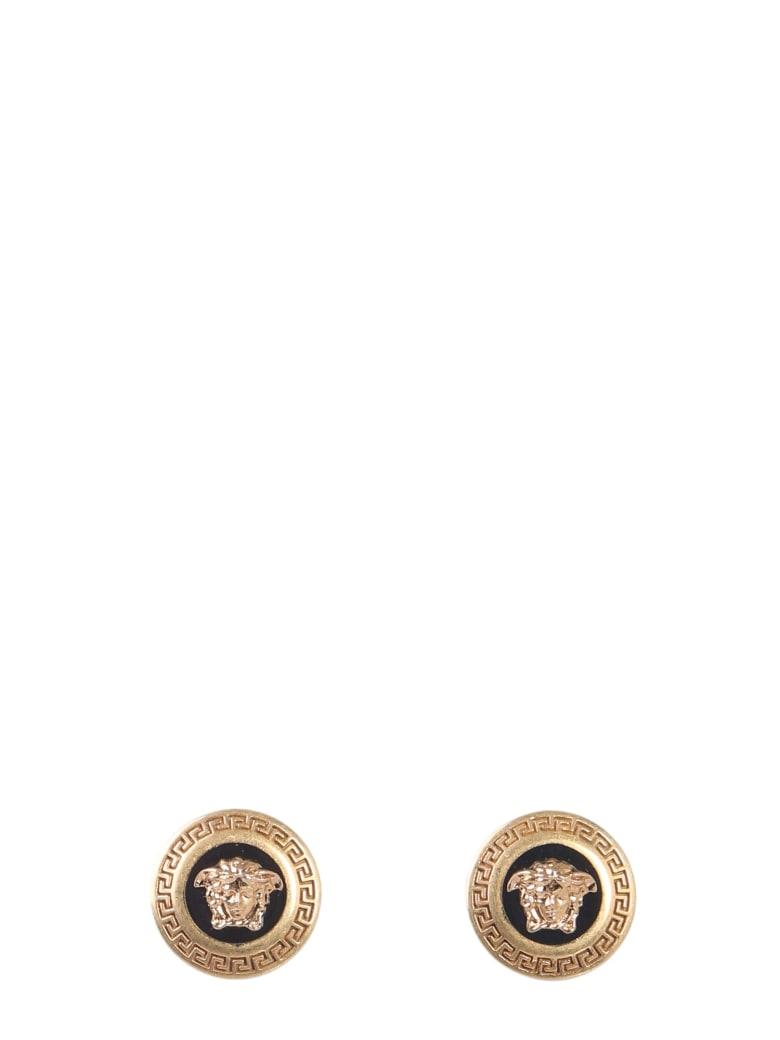Versace Medusa Earrings - Nero
