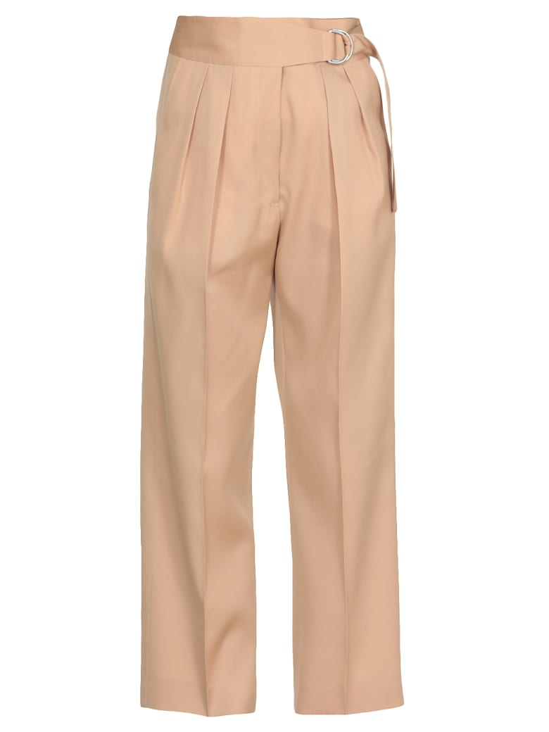 Jil Sander Wool Pants - Lightcamel