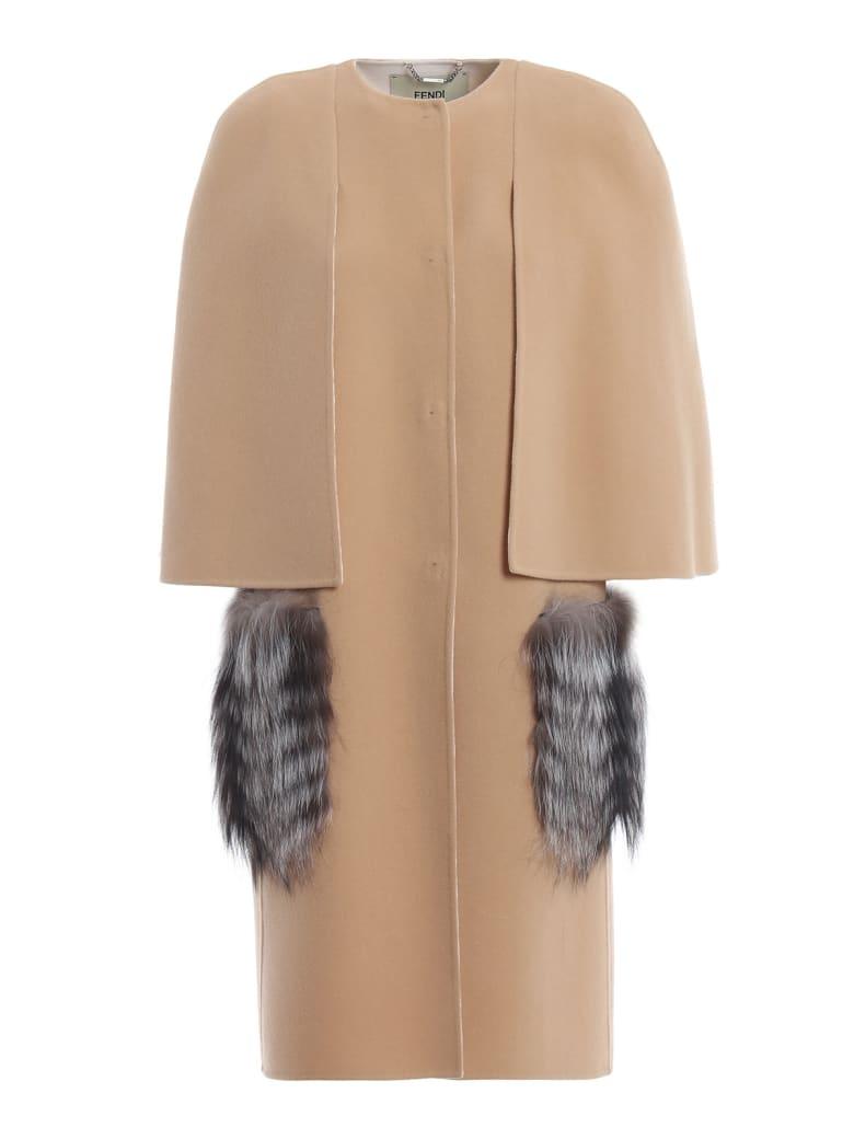 Fendi Wool Cape - Wu Montale