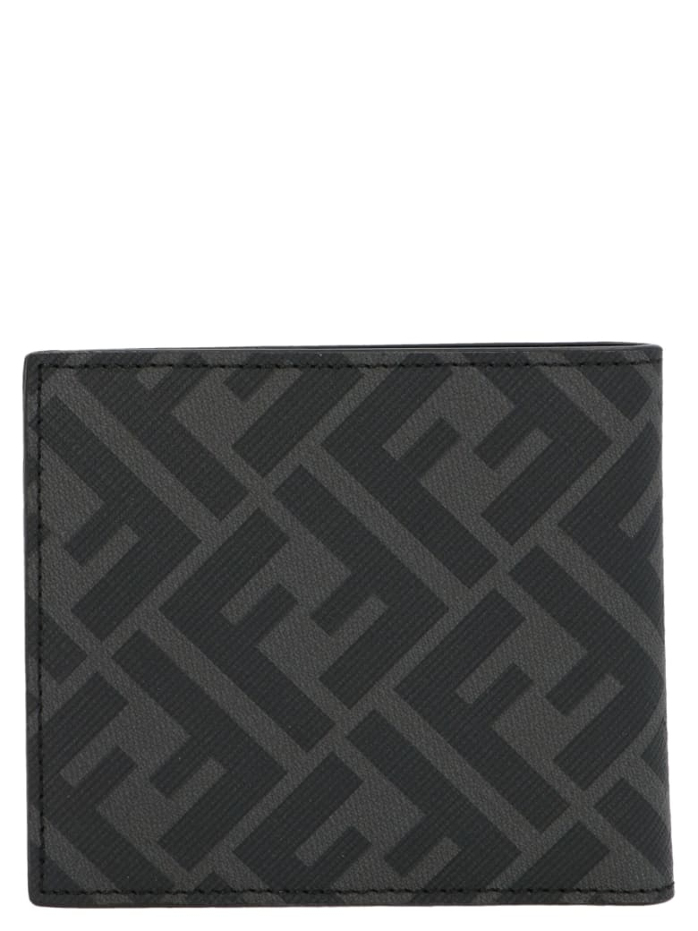 Fendi 'ff Diagonal' Wallet - Nero