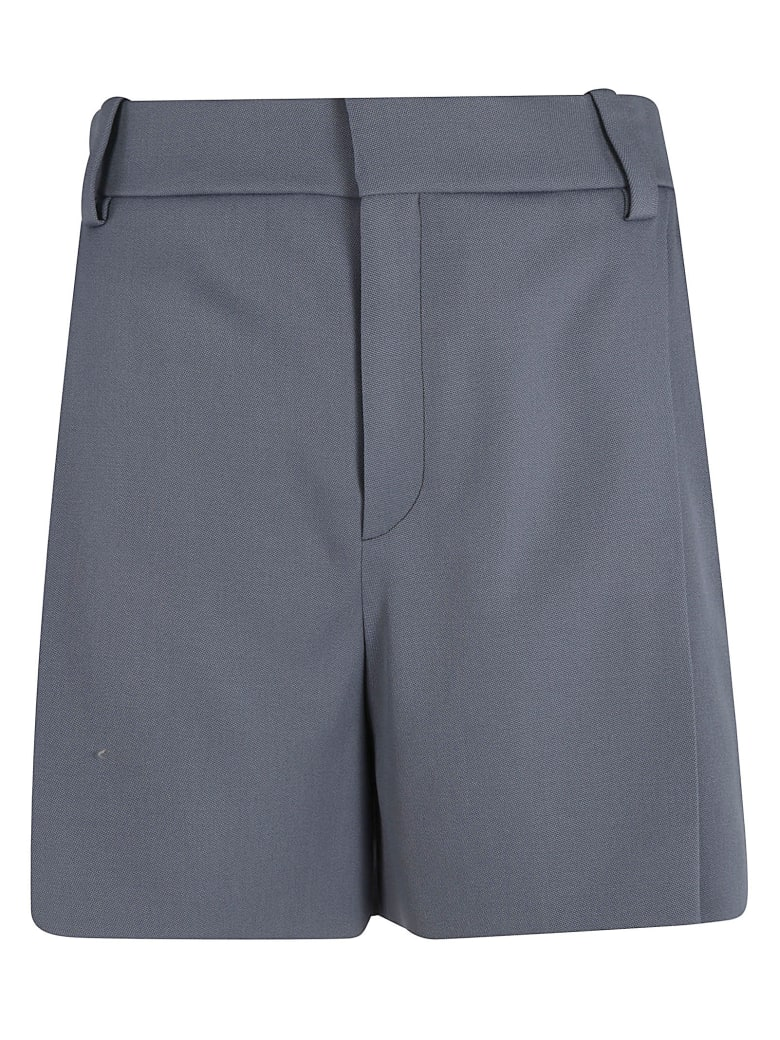 Chloé Concealed Fastening Shorts - Stormy Blue