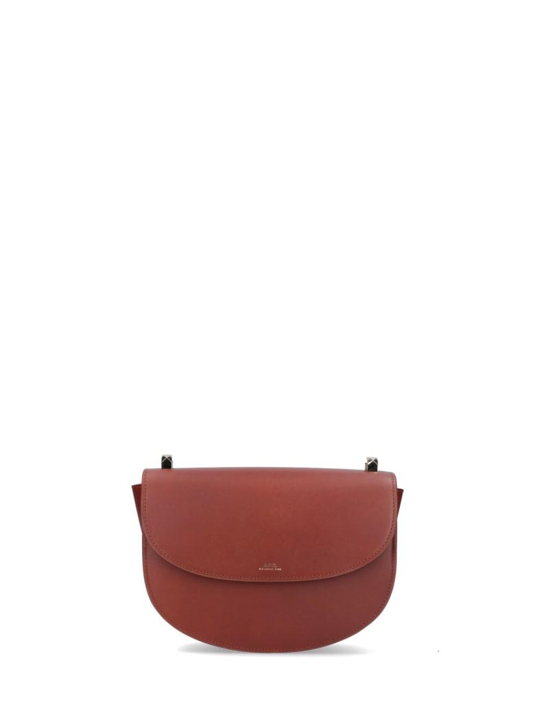 A.P.C. Shoulder Bag - Brown