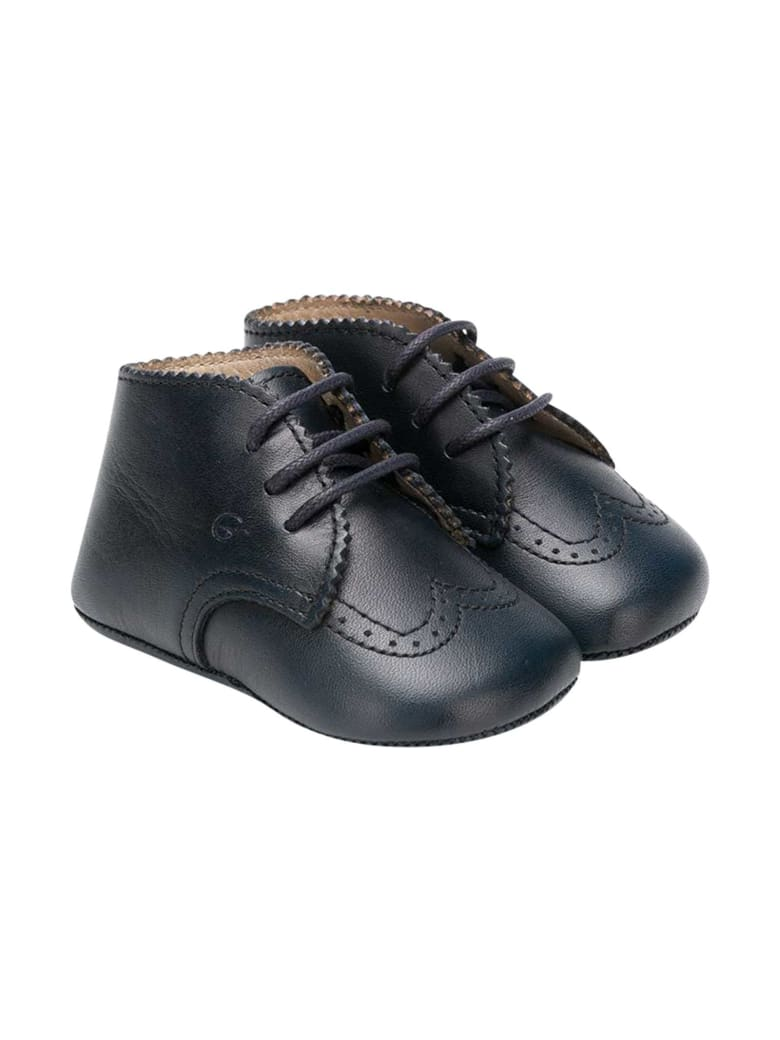Gallucci Blue Shoes Kids With Laces - Unica