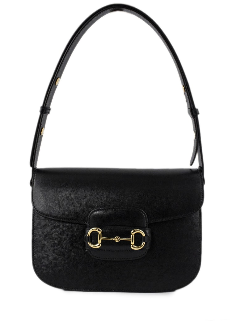 Gucci Gucci 1955 Horsebit Shoulder Bag - Nero