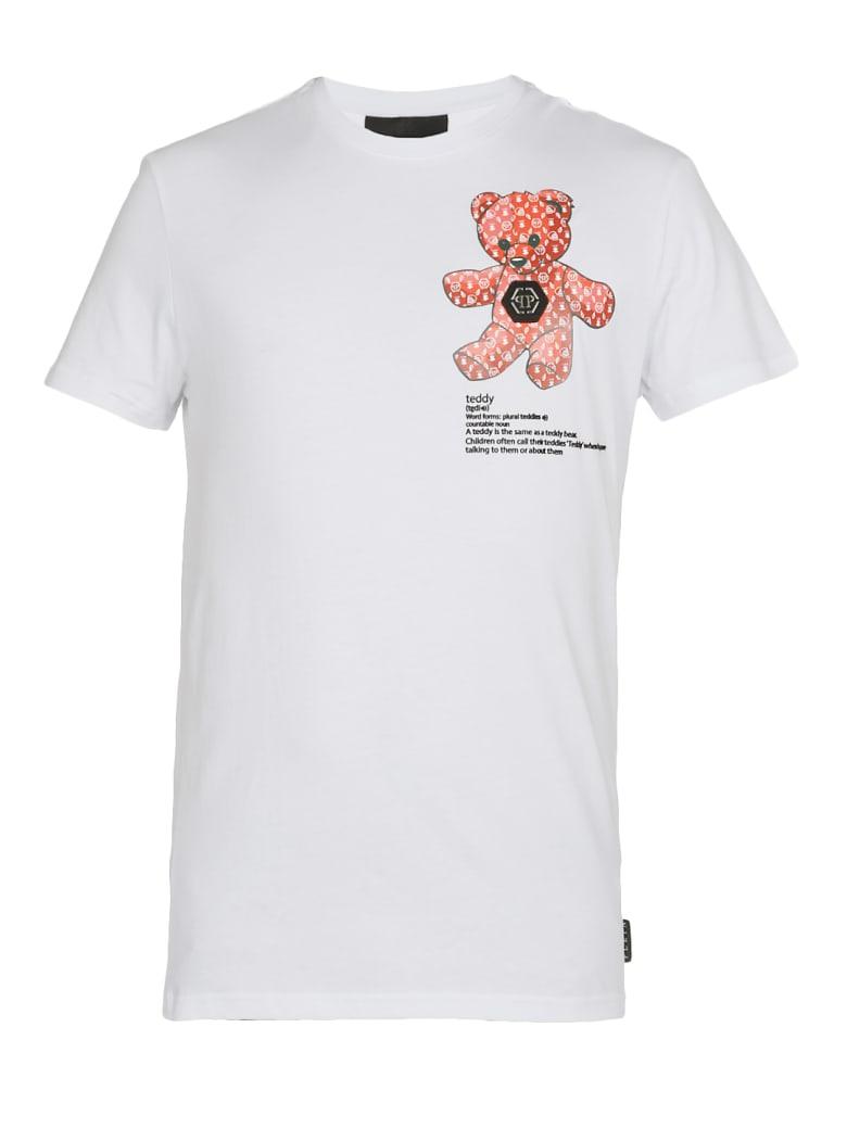 Philipp Plein Teddy Bear T-shirt - WHITE
