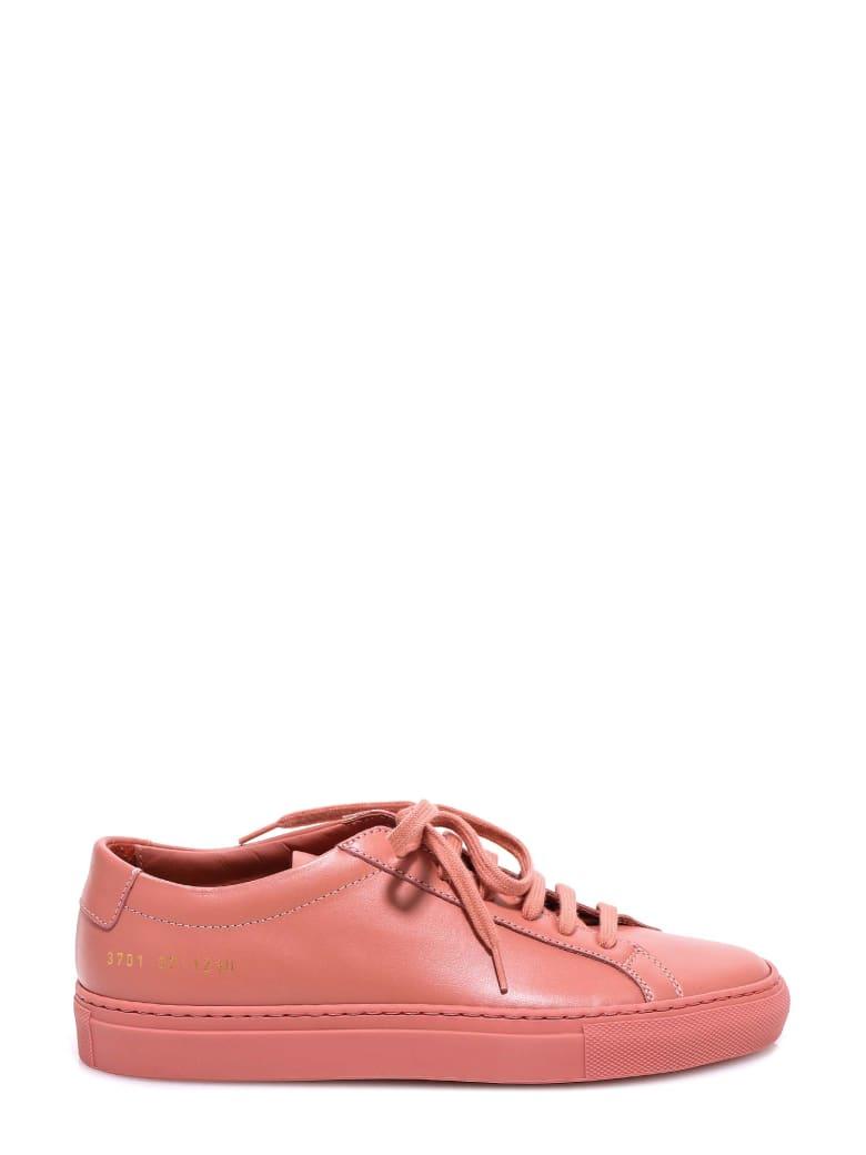 Common Projects Original Achilles Low Shoes - Pink