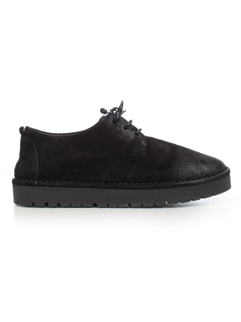 Marsell Shoes W/lace W/rubber Sole - Nero