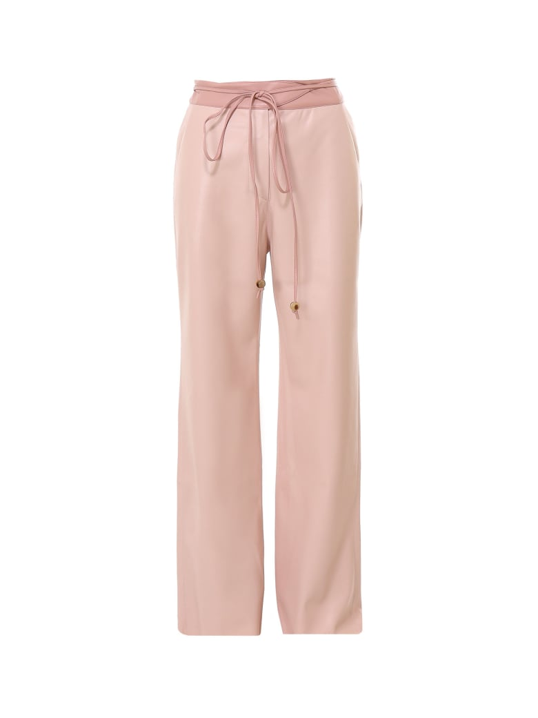 Nanushka Trousers - Beige