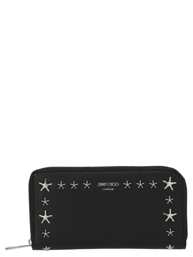 Jimmy Choo 'carnaby' Wallet - Black