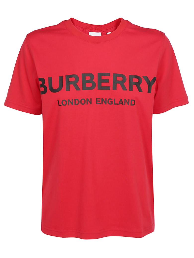 Burberry Dovey T-shirt - Bright red