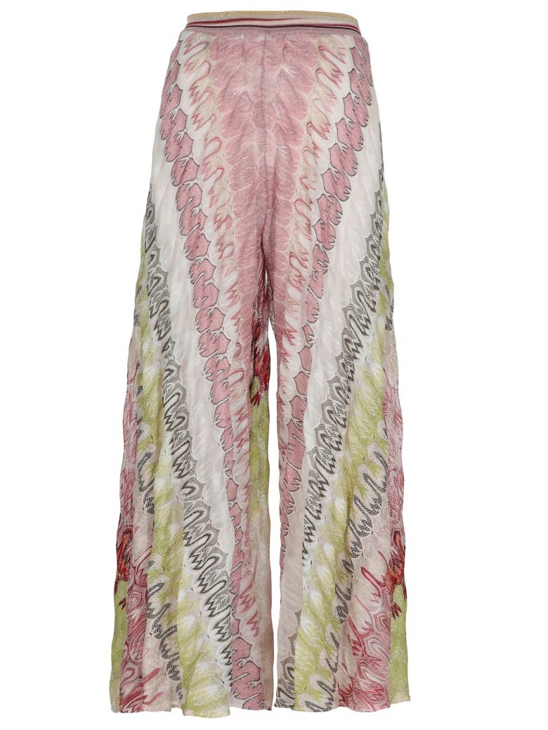 Missoni Knitted Trousers - Multicolor