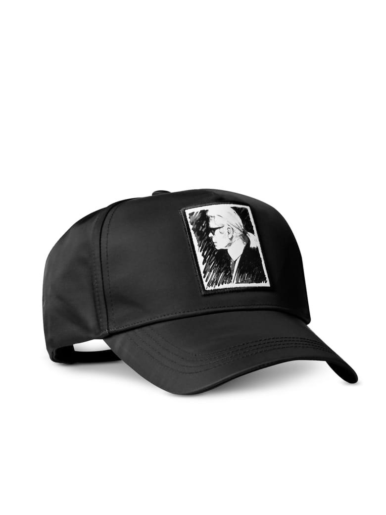 Karl Lagerfeld Karl Legend Black Cap - Black