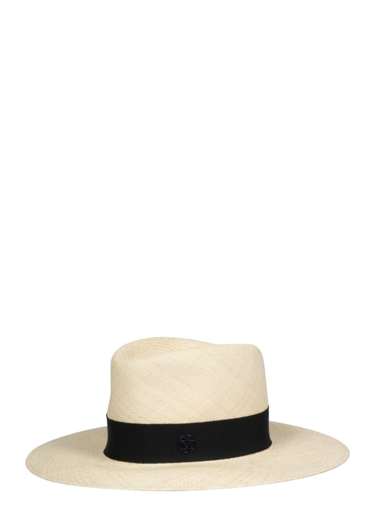 Maison Michel Charles Timeless Hat - Nude & Neutrals