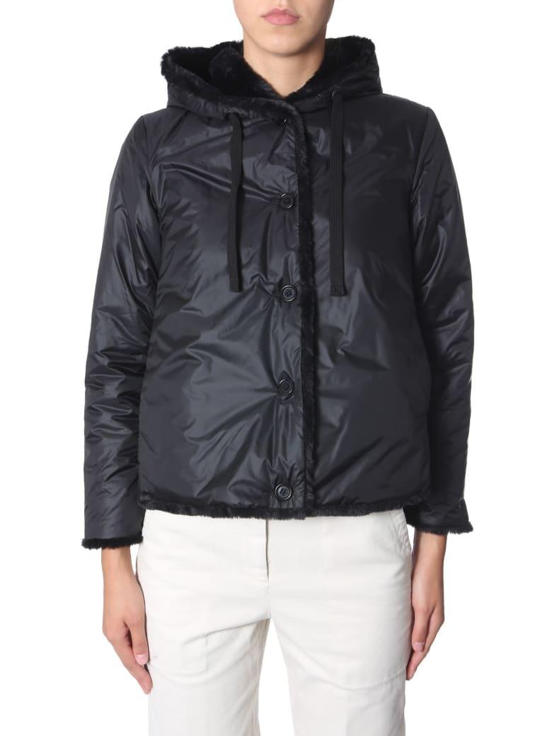 Aspesi Hooded Jacket - NERO