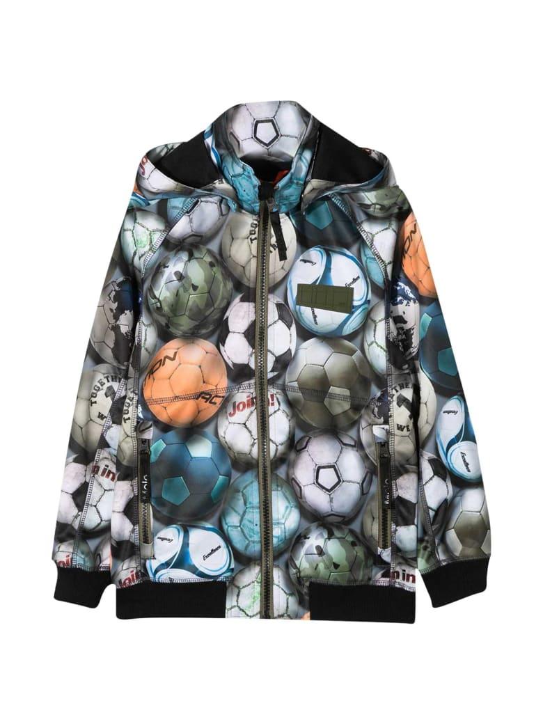 Molo Multicolor Teen Lightweight Jacket - Unica