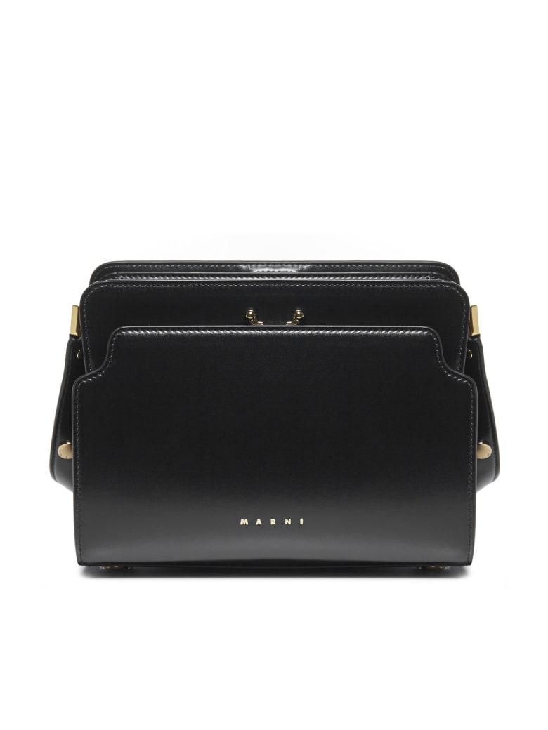 Marni New Trunk Shoulder Bag - Black